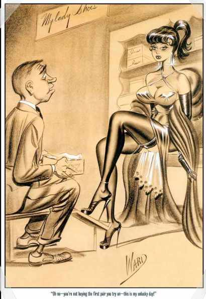 Bill-Ward-Drawing-Man-On-His-Knees