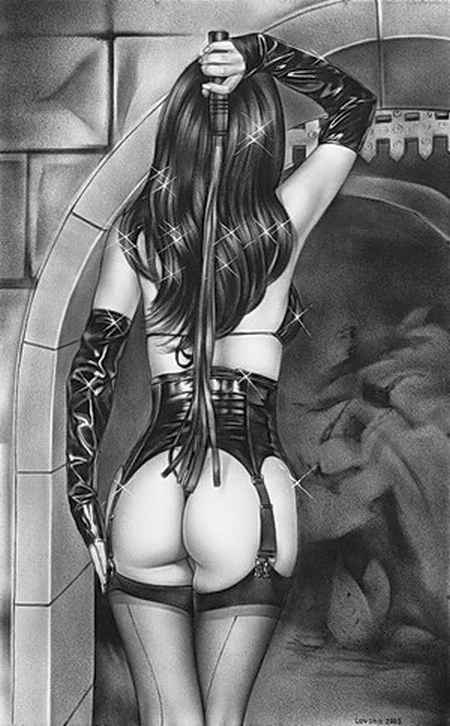 Domina-Sexy-Ass-Holding-Whip