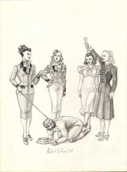 Male-Slave-As-Femdom-Pet