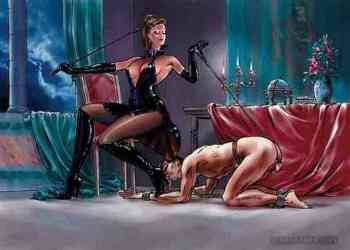 male-slave-worshipping-his-goddess