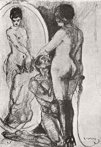 Richard-Hegemann-Male-Slave-Worships-Mistress